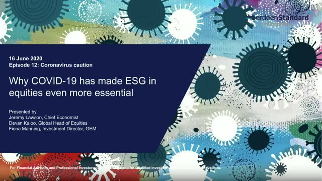 Why Covid-19 has made ESG in equities even more essential