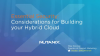 Essential Security Considerations for Building your Hybrid Cloud