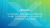 Virtualize, Secure and Deploy High Performance Financial Desktops at Scale