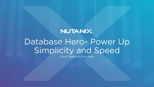 Database Heroes - Power Up Simplicity and Speed