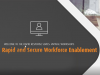 Rapid and Secure Remote Workforce Enablement with Amazon Workspaces