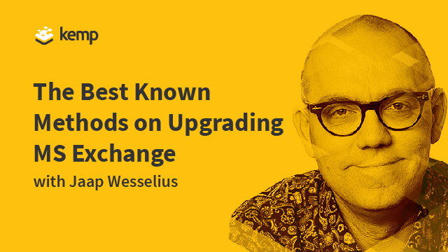 The Best Known Methods on Upgrading Microsoft Exchange