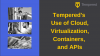 Tempered's use of Cloud, Virtualization, Containers, and APIs