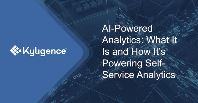AI-Powered Analytics: What It Is and How It's Powering Self-Service Analytics
