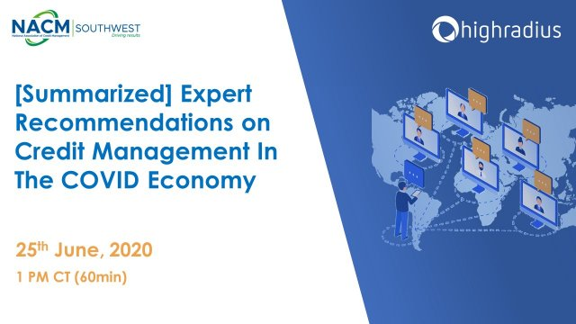 [Summarized] Expert Recommendations on Credit Management In The COVID Economy