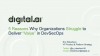 """5 Reasons Why Organizations Struggle to Deliver """"Value"""" in DevOps"""