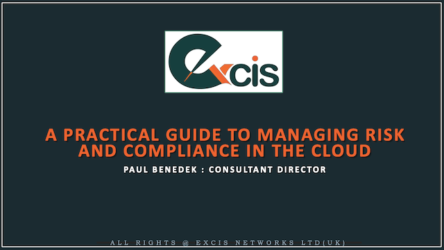 A Practical Guide to Managing Risk and Compliance in the Cloud