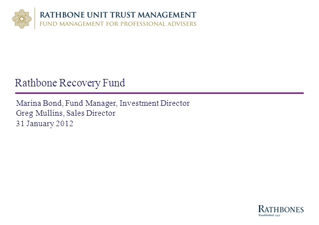 Rathbone Recovery Fund