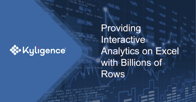 Providing Interactive Analytics on Excel with Billions of Rows