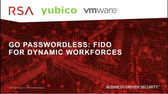 Go Passwordless: FIDO for Dynamic Workforces