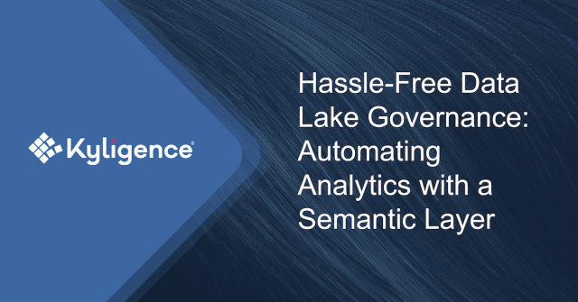 Hassle-Free Data Lake Governance: Automating Analytics with a Semantic Layer