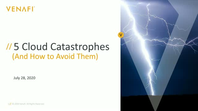 Five Cloud Catastrophes (and How to Avoid Them)