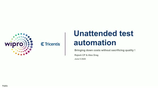Unattended Test Automation: Bringing down costs without sacrificing quality