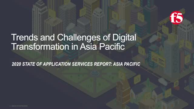 Trends and Challenges of Digital Transformation in Asia Pacific