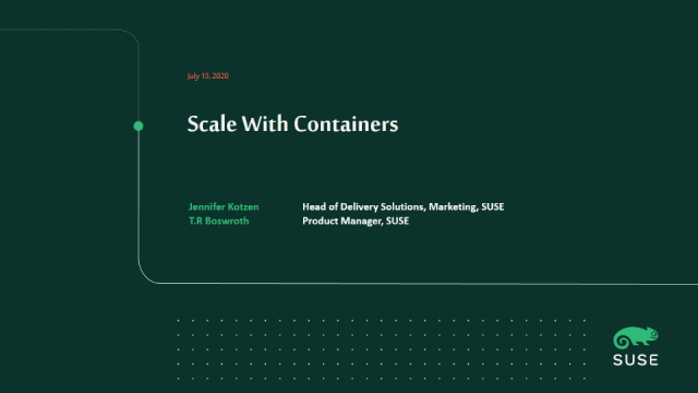 Scale With Containers
