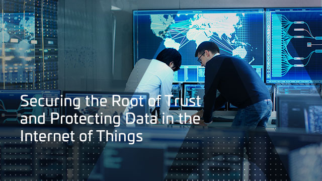 Securing the Root of Trust and Protecting Data in the Internet of Things