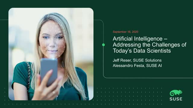 Artificial Intelligence – Addressing the Challenges of Today's Data Scientists