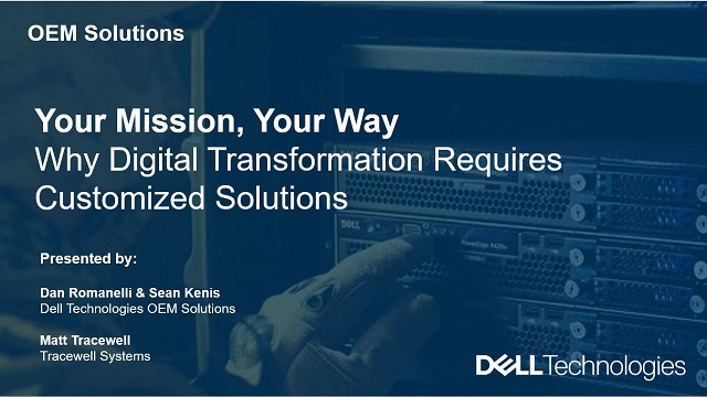Your Mission, Your Way: Why Digital Transformation Requires Customized Solutions