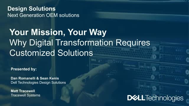 Your Mission, Your Way: Why Digital Transformation Demands Customized Solutions