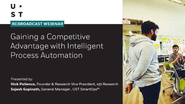 Gaining a Competitive Advantage with Intelligent Process Automation