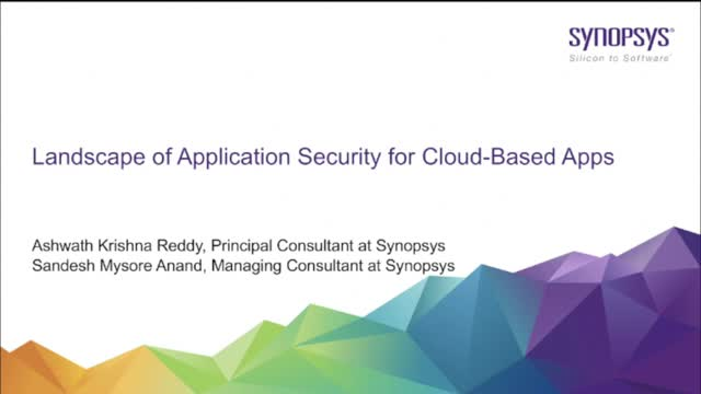 Landscape of Application Security for Cloud-Based Apps