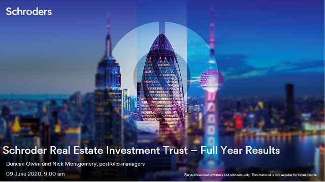 Schroder Real Estate Investment Trust – Full Year Results