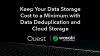Keep Your Data Storage Cost to a Minimum with Data Deduplication & Cloud Storage