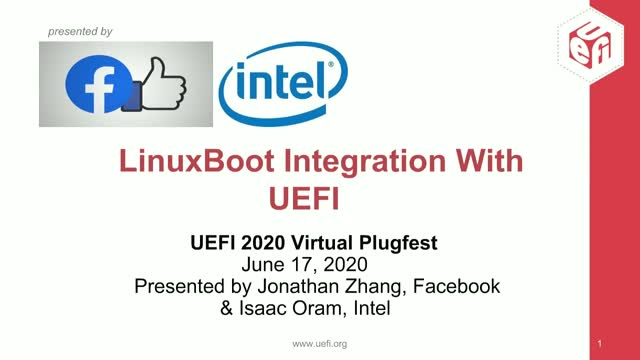LinuxBoot Integration with UEFI Host Firmware