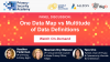 One Data Map vs. Multitude of Data Definitions