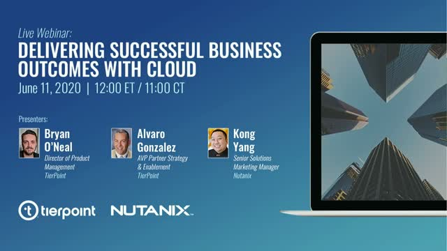 Delivering Successful Business Outcomes with Cloud