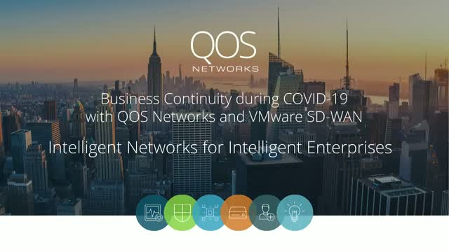 Business Continuity with QOS Networks and VMware SD-WAN