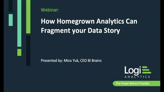 How Homegrown Analytics Can Fragment Your Data Story