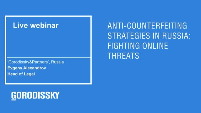 Anti-counterfeiting strategies in Russia: fighting online threats