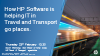 How HP Software is helping IT teams in Travel and Transport go places.