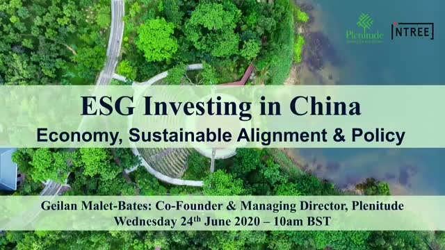 ESG Investing in China