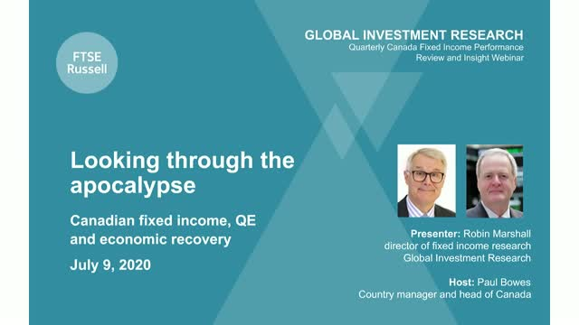 Canada Fixed Income Performance Review & Insight: Looking through the apocalypse