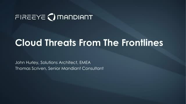Cloud Threats from the Frontlines