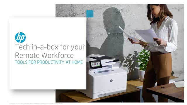 HP Tech-In-A-Box for Your Remote Workforce