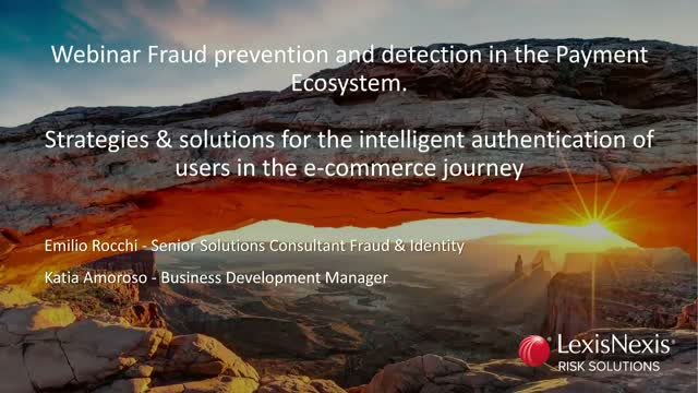 Fraud Prevention and Detection in the Payment Ecosystem