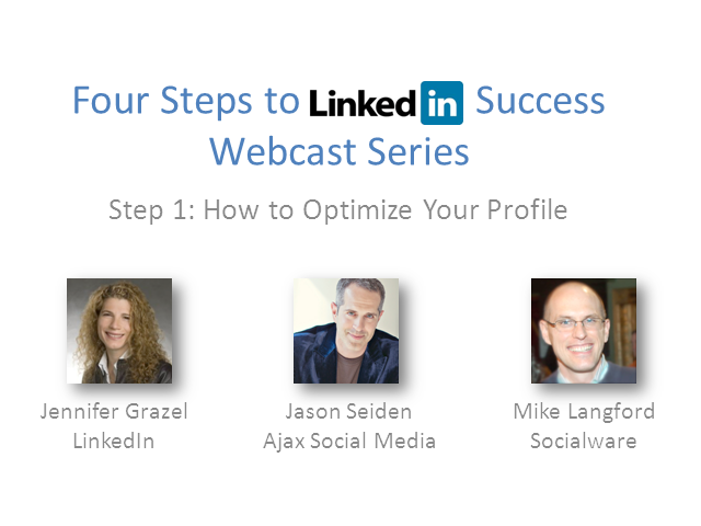 LinkedIn Success for Financial Professionals: Step 1— Optimize Your Profile