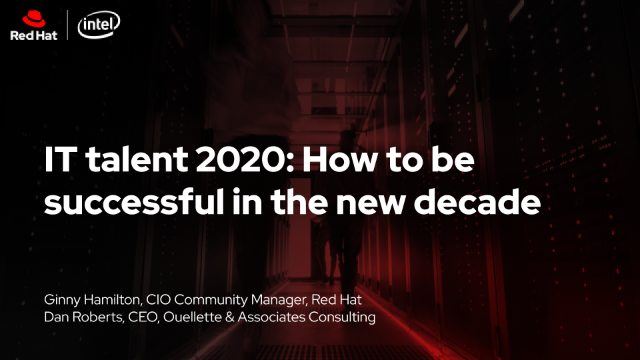 IT talent 2020: How to be successful in the new decade