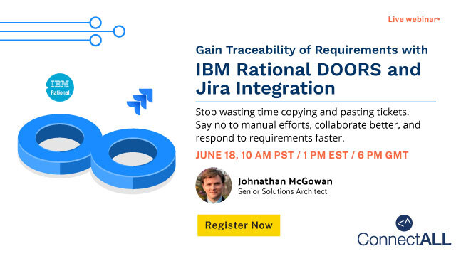 Gain Traceability of Requirements with IBM Rational DOORS and Jira Integration