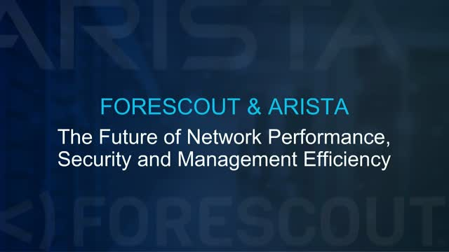 The Future of Network Performance, Security and Management Efficiency
