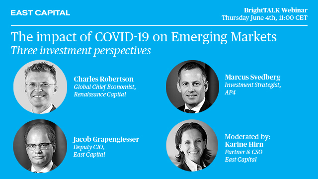 The impact of COVID-19 on Emerging Markets – three investment perspectives