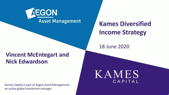 AAM/Kames Multi-Asset Diversified Income strategy update