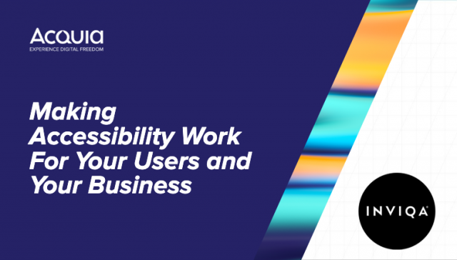 Making Accessibility Work For Your Users and Your Business