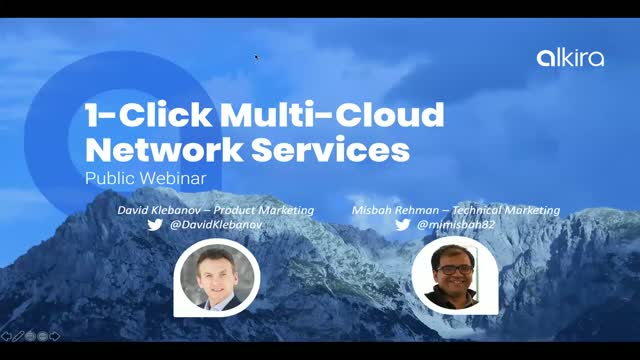 1-Click Multi-Cloud Network Services