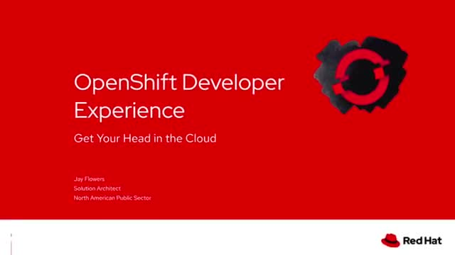 A peek at a day in a life of a developer on OpenShift Container Platform
