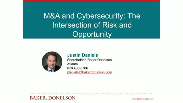 M&A and Cybersecurity: The Intersection of Risk and Opportunity