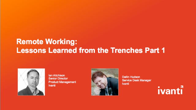 Remote Work: Lessons Learned from the Trenches Part 1